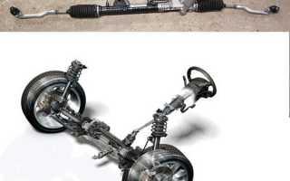 Замена рулевой рейки Дастера