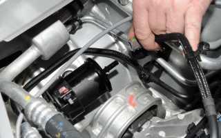 Как заменить топливный фильтр на Дастере самому