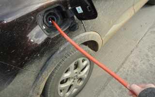 Как самостоятельно слить бензин из бака Рено Дастер