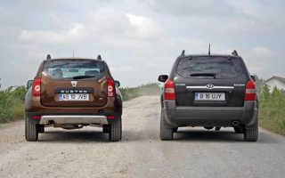 Какой автомобиль выбрать: Дастер или Туксон