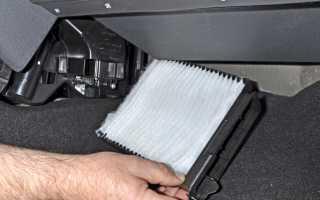 Как заменить салонный фильтр на Дастере