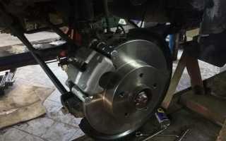 Как демонтировать и заменить дисковые тормоза Renault Duster