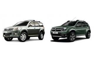Какой автомобиль выбрать: Ховер или Дастер