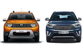Какой автомобиль лучше выбрать: Дастер или Крета