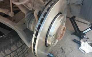 Как поменять передние и задние тормозные диски на Рено Дастер