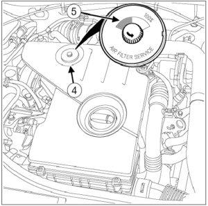 сброс датчика воздушного фильтра на дизельном дастере